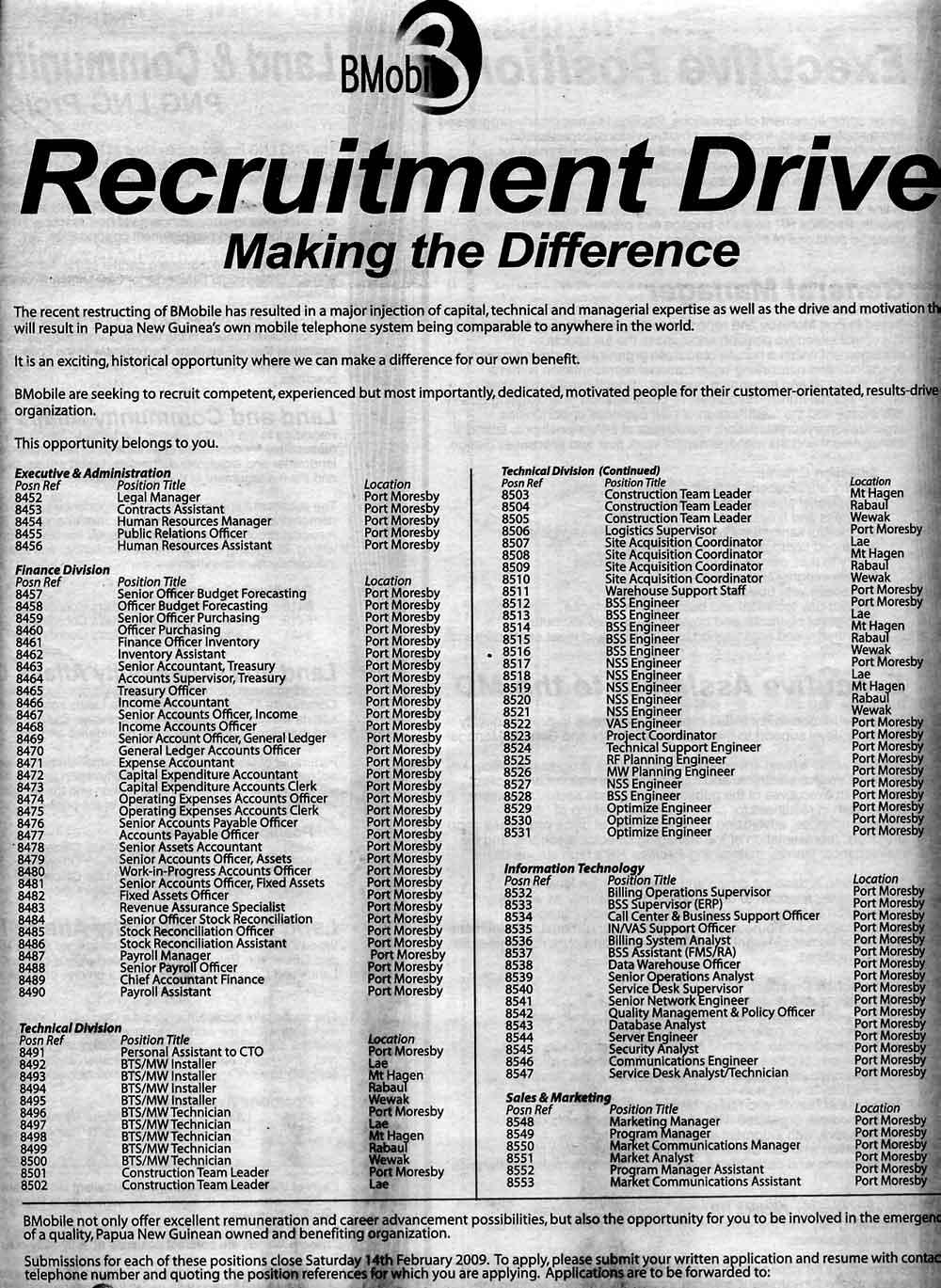 bmobile_recruitment_drive