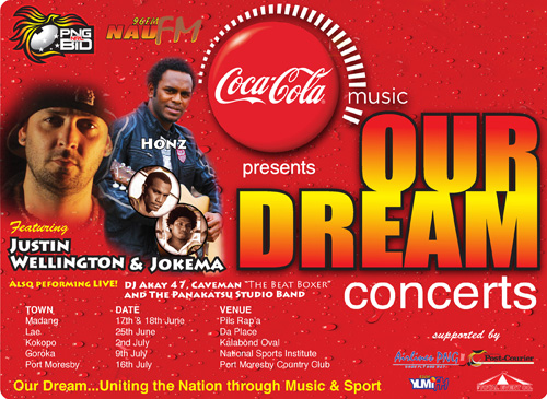 Our Dream Concerts feat  Justin Wellington, Jokema, Honz