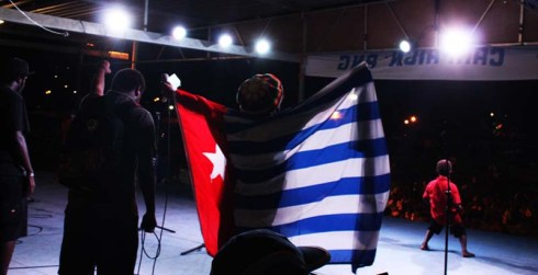 Pictures of the Benny Wenda 'Free West Papua' Concert in Port Moresby