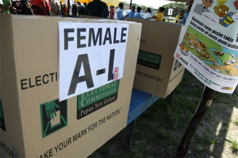 PNG-Elections-Female-only-ballot-box-WEB